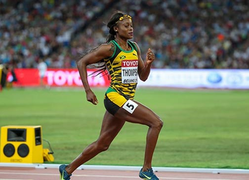 Thompson wins Olympic gold for Jamaica in women's 100m