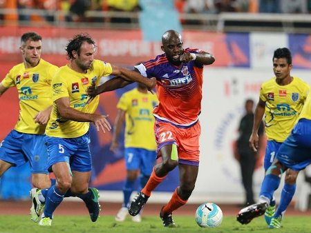 FC Pune City play out 1-1 draw against Kerala Blasters in ISL