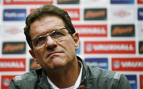 Capello claims FA p****d him off during tenure as England boss