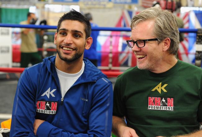 Brit boxer Amir Khan ends 4-yr-partnership with trainer Freddie Roach