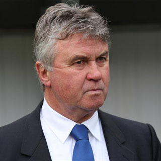 The 70-year old son of father Gerhardus Hiddink and mother Jo Hiddink, 178 cm tall Guus Hiddink in 2017 photo