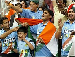 Festive atmosphere in Nagpur for India match