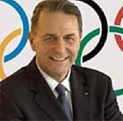 International Olympic Committee president Jacques Rogge