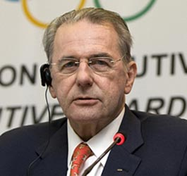 Rogge terms London Olympics 'happy & glorious'
