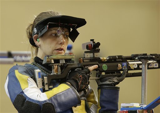 US shooter Gray on target for rifle gold