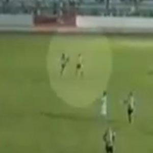 Brazilian footballer sacked after 'karate kick' on referee