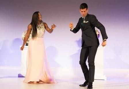 Djokovic, Serena Williams take top honours at Laureus awards