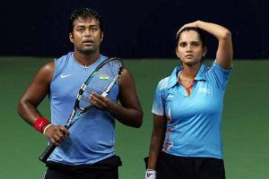 US Open: Paes, Sania lose in mixed doubles