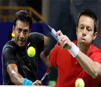 Bhupathi and Nestor win in straight sets