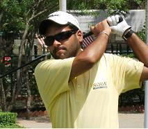Jaini shares lead with Mukesh at Aircel PGTI