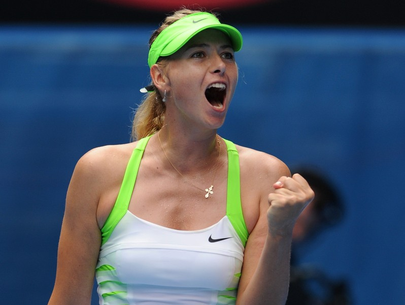 Sharapova endures tough first Round in Beijing