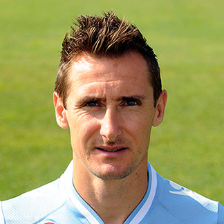 Former Germany striker Miroslav Klose