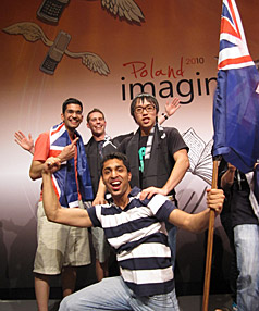 Indian helps Kiwis take bronze at ''Nerd Olympics''in Poland