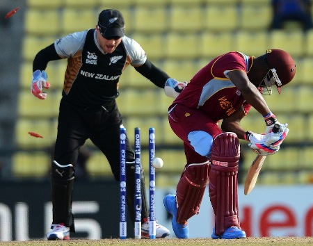World T20: New Zealand restrict Windies to 139