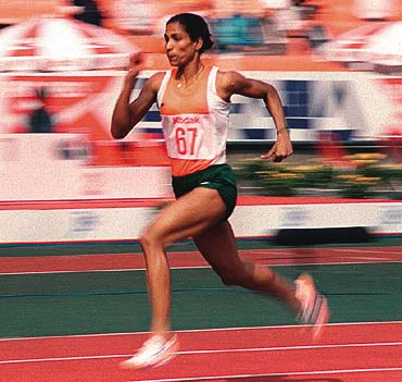 Former athlete queen P T Usha