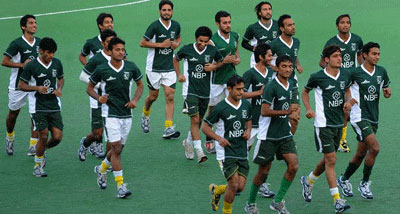 Pakistan hockey team leaves for Olympics