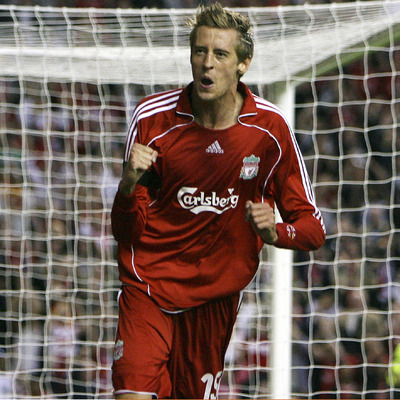 England and Liverpool striker Peter Crouch