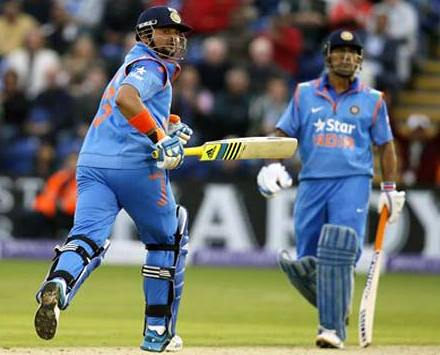 Raina, Dhoni fireworks propel unbeaten India to clinical six wicket win against