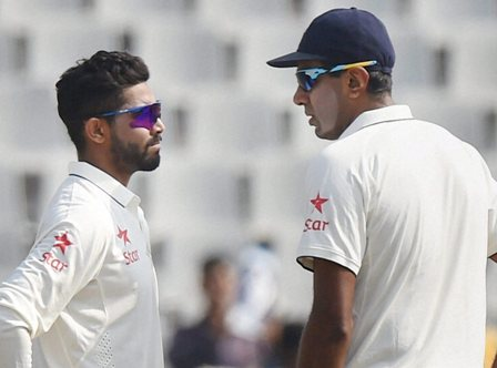 Ashwin, Jadeja star as India crush Kiwis in landmark 500th Test
