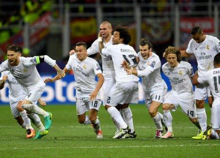 Real Madrid equal Barca's La Liga record with 2-0 win over Espanyol