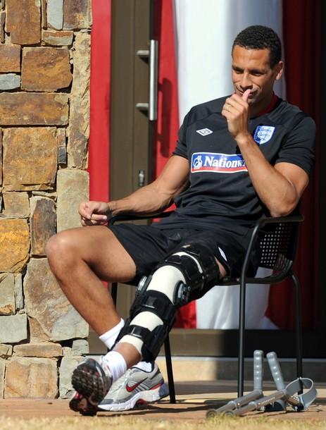 Rio Ferdinand injurry