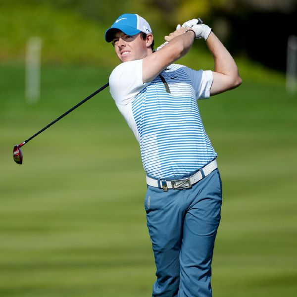 Northern Irish golf ace Rory McIlroy