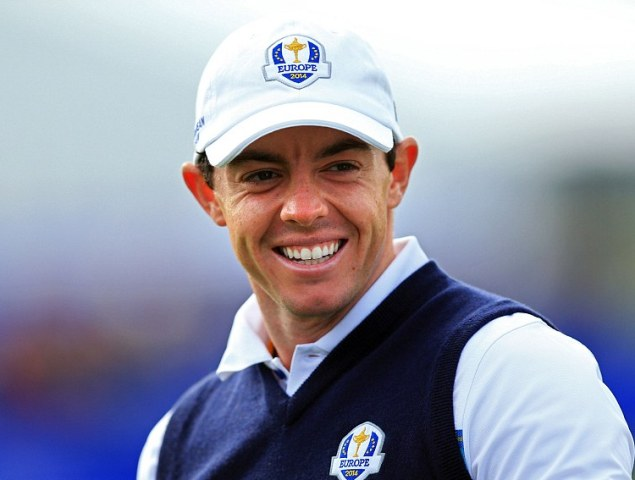 Rory McIlroy has no idea how he went topless while celebrating Gleneagles-win