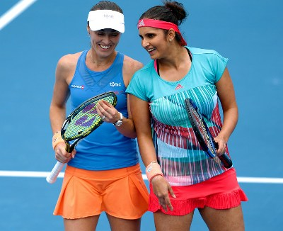 Mirza-Hingis' 41-match winning streak ends at Qatar Open