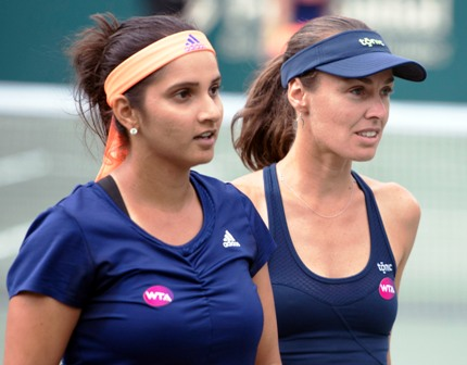 Mirza-Hingis suffers setback in Stuttgart Open final