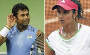 Sania and Paes move up, Bhupathi-Bopanna lose