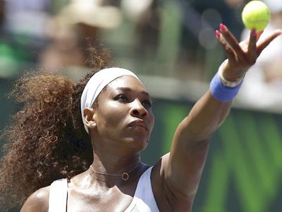 Serena beats Sharapova to win sixth Miami title