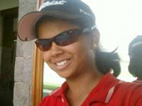 Debutant Vani snatches lead in Hero Women's golf