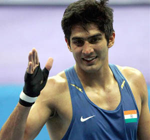 Olympic boxing: India's Vijender Singh in quarterfinal