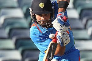 India beat Sri Lanka by four wickets