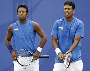 Paes-Bhupathi out of China Open