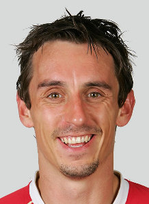 """""""And now, we are hearing that Gary Neville could be in the race to become the new manage at the Valley Parade stadium. Neville, 36. - gary-neville-squad"""