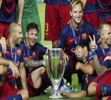 Barca lift European Super Cup after thrilling 5-4 win over Sevilla