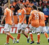 Blackpool relegated from Championship despite six games still left to play