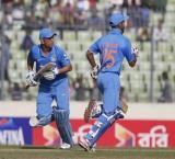 Dhawan, Dhoni shine as India post daunting 318-run target for Bangladesh