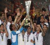 Sevilla beat Liverpool to complete hat-trick of Europa Cup title