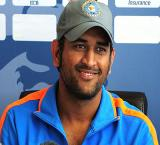Indian cricket skipper Mahendra Singh