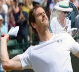 Duchess of Cornwall to auction Andy Murray's `wristband`