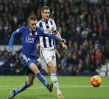 Craig's equalizer helps West Brom hold Leicester to 2-2 PL draw
