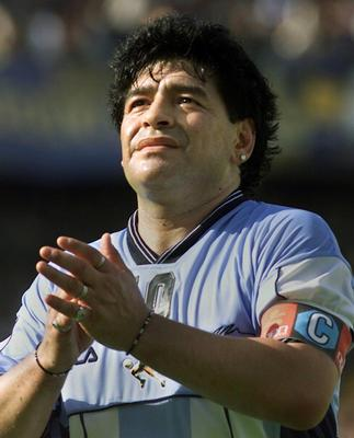 Maradona, girlfriend escape unhurt as car crashes into bus