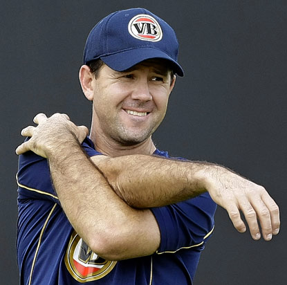 Ponting pumped to pummel New Zealand