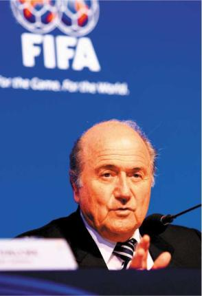 Blatter says no gay sex in Qatar during 2022 football World Cup