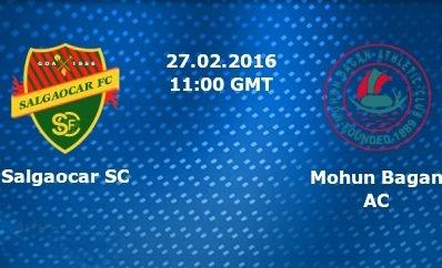 I-League: Salgaocar FC vs Mohun Bagan AC - Preview