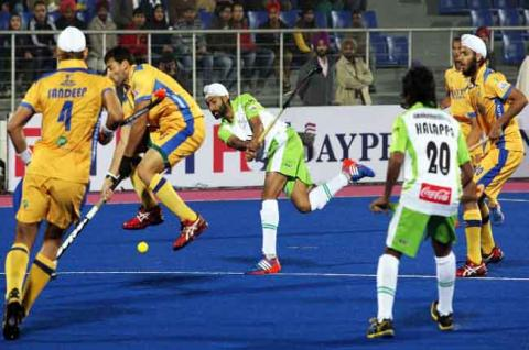 HIL 2017: Delhi Waveriders thrash Punjab Warriors 6-1