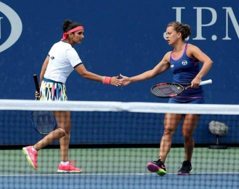Mirza-Strycova knock out of Qatar Open in semis
