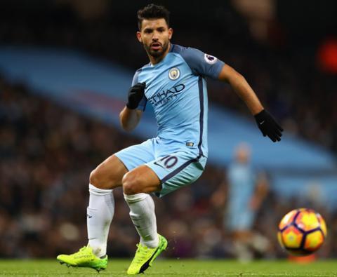 Aguero strikes as Man City sink Sunderland 2-0 in PL clash